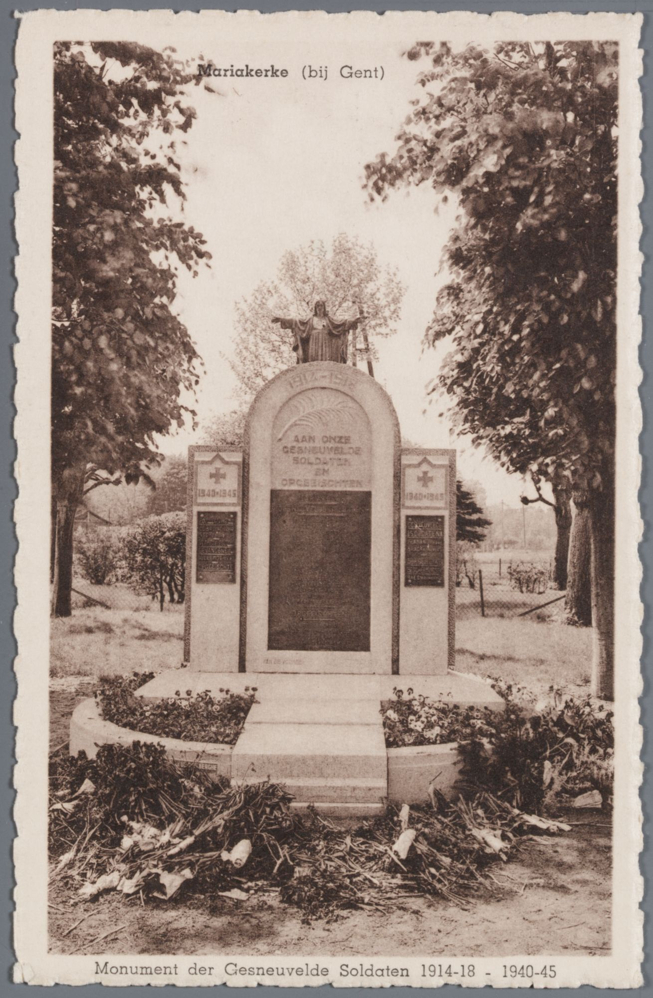 Mariakerke-bij-Gent: oorlogsmonument 1914-18