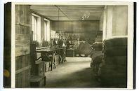 Gent: Etappen-Sanitätsdepot (hoofdapotheek van de etappe), Packraum (magazijn), 1915-1916