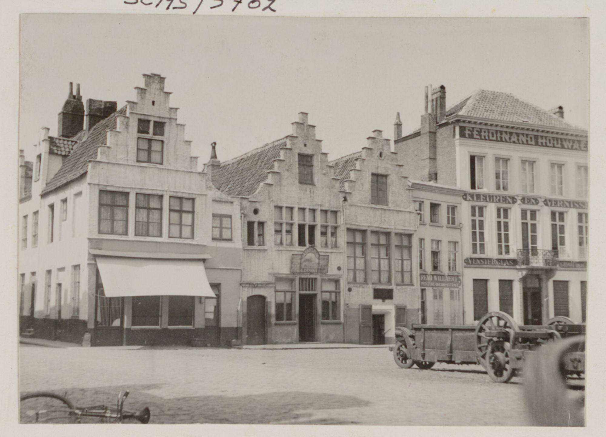 Gent: Hoek Lievekaai en Braderijstraat