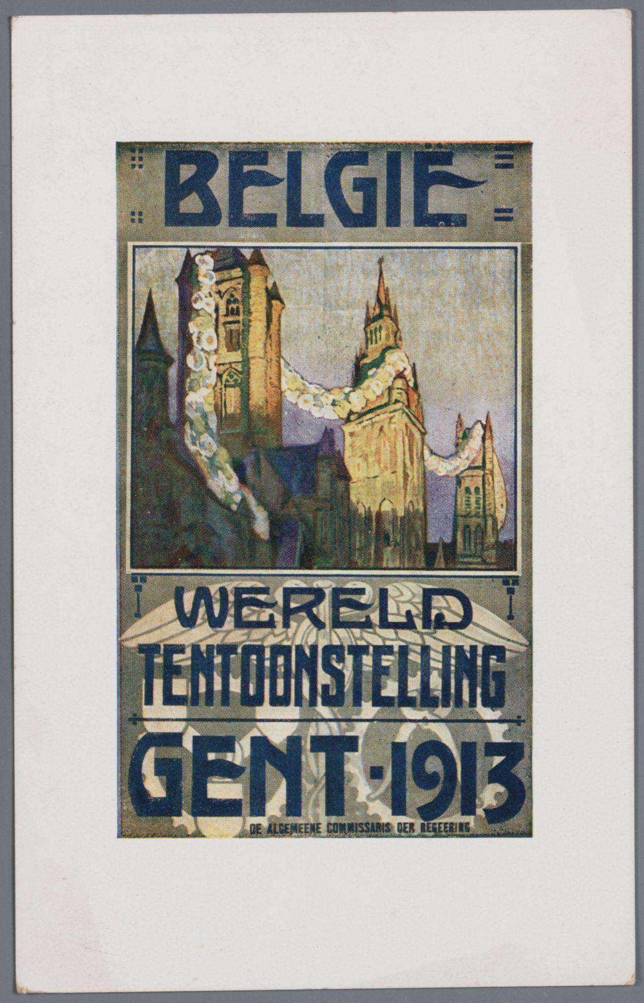 Gent: Wereldtentoonstelling 1913