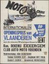 Motocross, Openingsprijs van Vlaanderen, met Internationalen aan de nieuwe Watersportbaan, Kon. Dekenij Ekkergem, Gent , 20 maart 1955