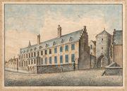 Gent: Posteernepoort en Abdij van Oost-Eeklo aan de Houtlei