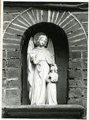 Gent: Jozef II-straat 69: Gevelbeeld, 1979
