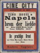 Napels bron der liefde (film 1), De prachtige bruut (film 2), Ciné City, Gent, 1940
