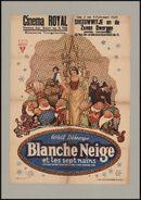 Blanche Neige et les sept nains   Sneeuwwitje en de zeven dwergen, Cinema Royal, Gent, 3 - 9 februari 1939